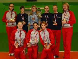 Команда Юность победитель I Турнира памяти В.М.Михалко 2005
