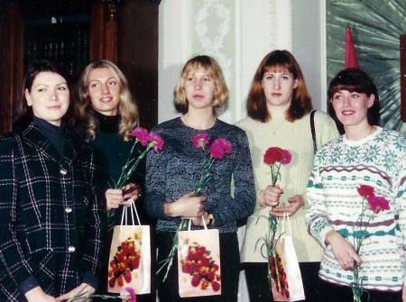 Ирина Бестужева, Наталья Белоусова, Наталья Воробьева, Наталья Алимова, Елена Созина