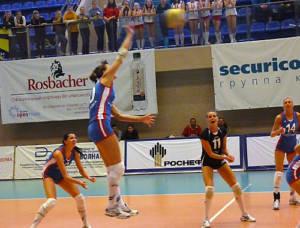 В атаке Елена Созина